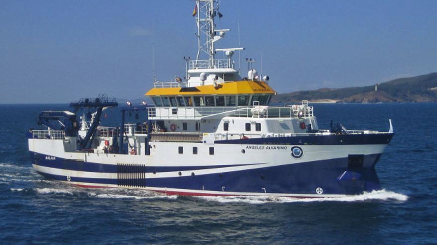 El barco con el robot y el sonar empezará a trabajar a finales de esta semana