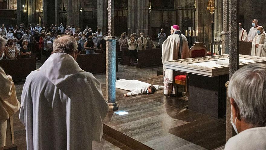 Edgar Jaulent, nou diaca del Bisbat de Girona