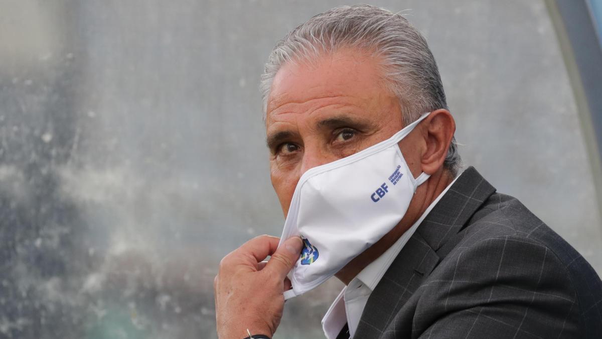 Tite, seleccionador brasileño.