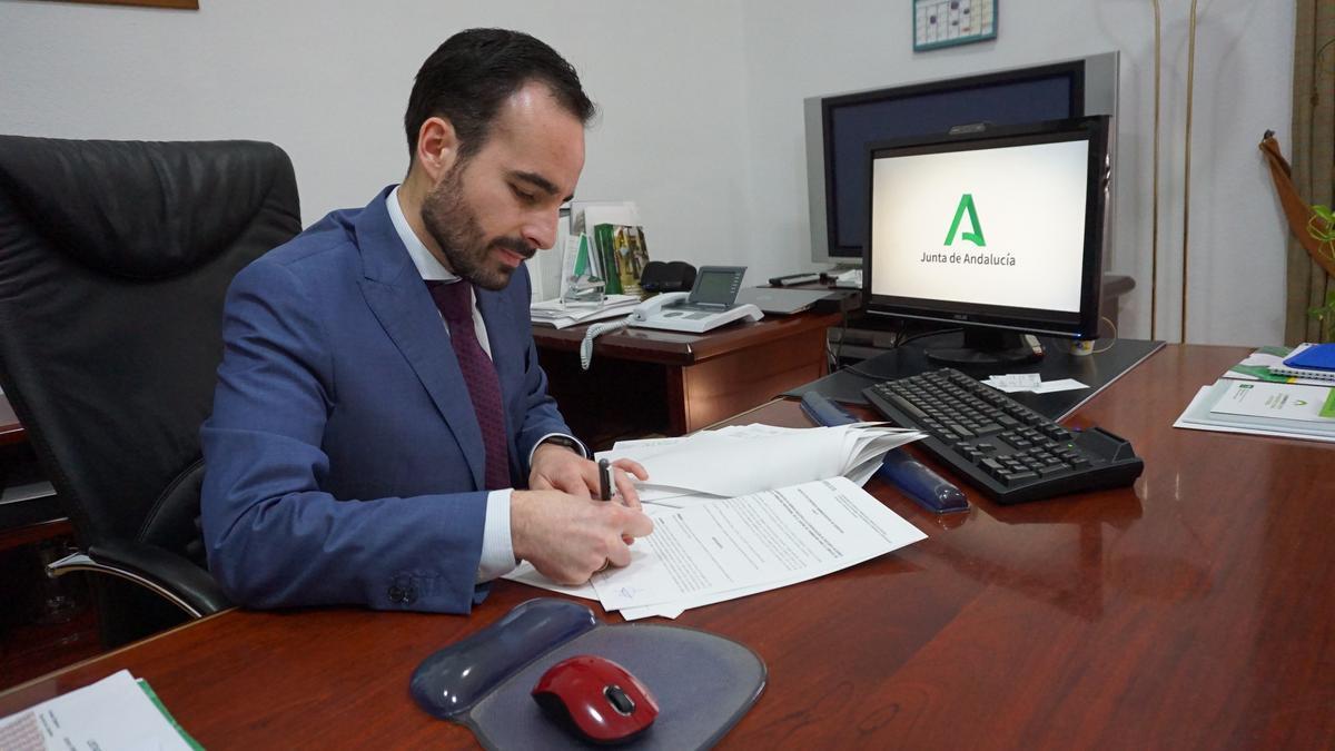 El delegado de Empleo, Ángel Herrador, en una imagen de archivo.