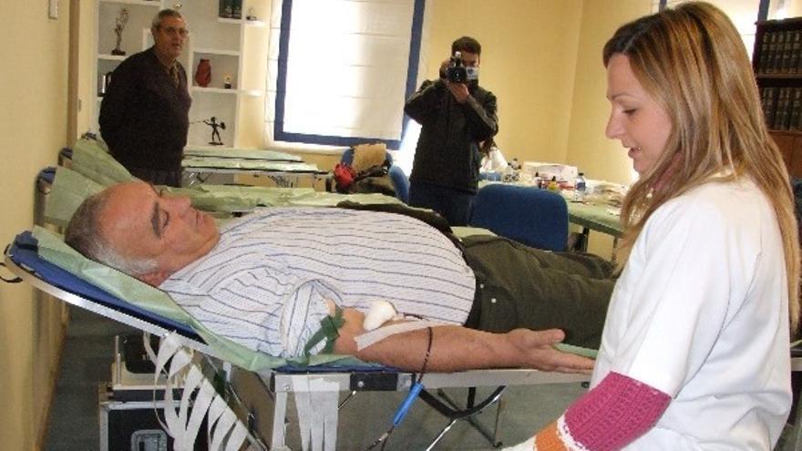 Cambian de lugar las extracciones de sangre