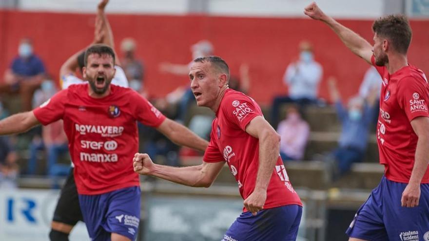 L'efecte Muñoz manté amb vida l'Olot (1-0)