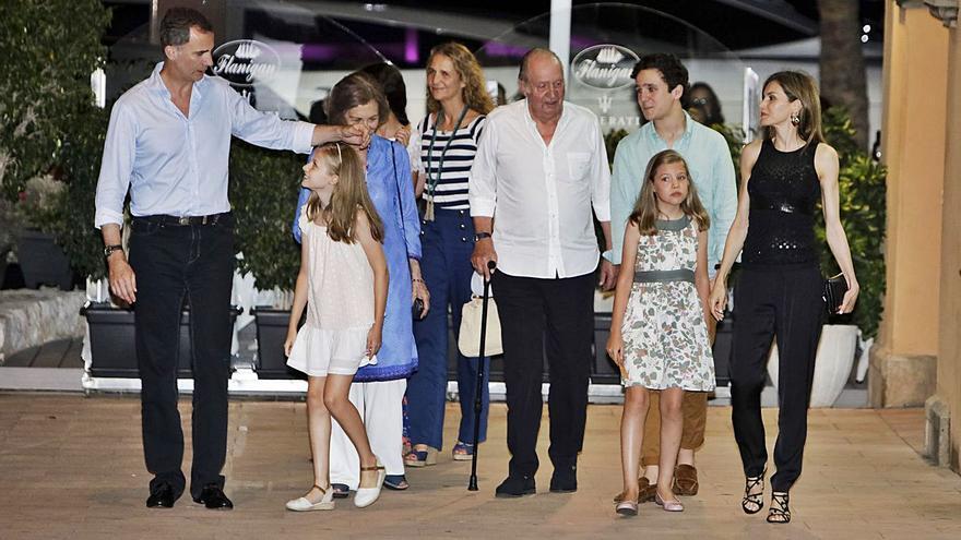 Juan Carlos I: un año fuera de España y dos sin pisar Mallorca