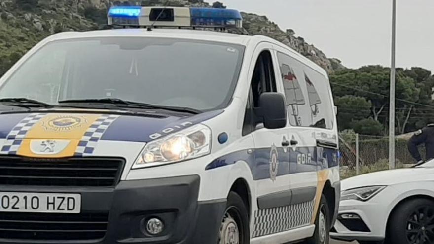 Muerde en el brazo a un policía local de Alicante cuando iba a detenerlo por tráfico de drogas