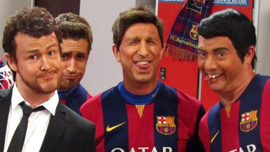 La batalla de rap de Luis Enrique i Zidane, a 'Crackòvia'