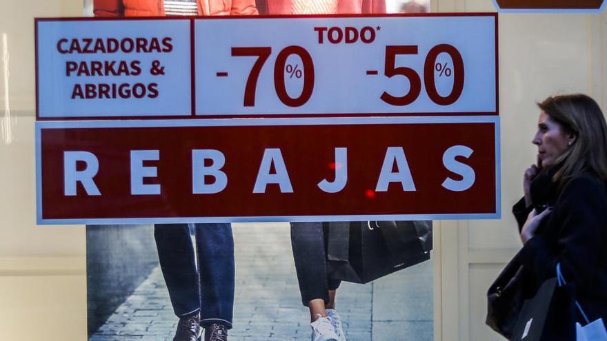 El comercio advierte de quiebras si se prohíben las rebajas