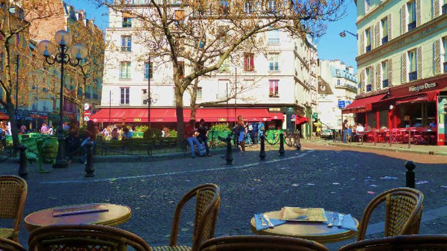 París, ajedrez de la 'Rive Gauche'