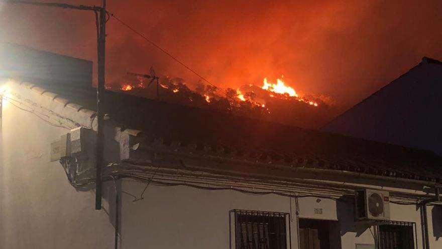 Video del incendio en Villaharta