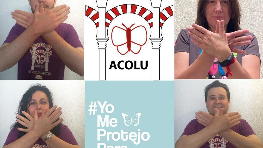 Córdoba se tiñe de morado con motivo del día mundial del lupus
