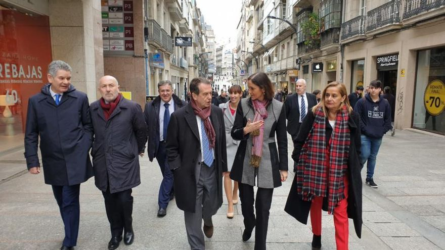 Visita de la ministra Reyes Maroto a Vigo