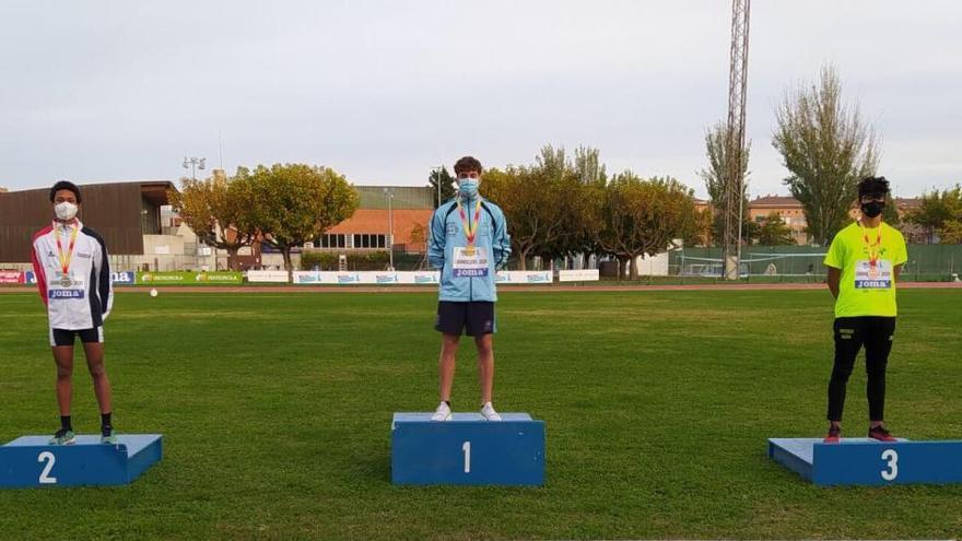 Seis medallas para el Club Nerja en el Nacional sub16