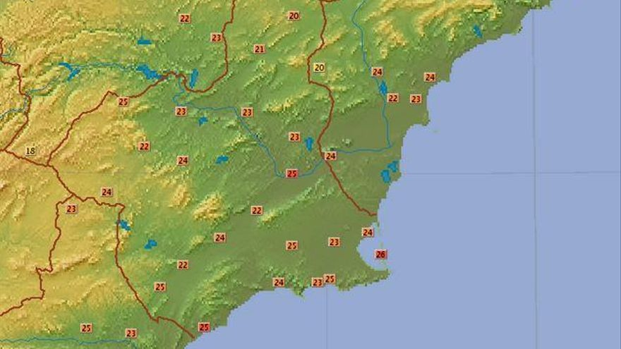 Murcia sufre la noche más calurosa en lo que va de año