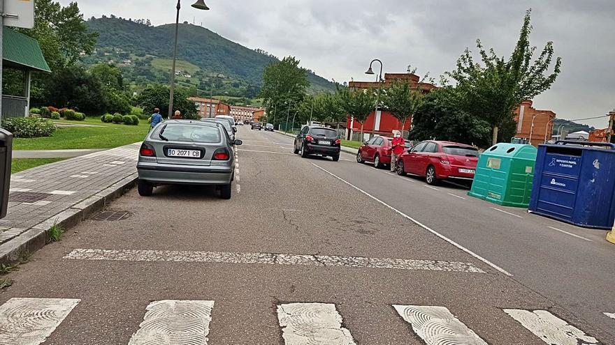 La avenida de La Camocha tendrá reductores de velocidad
