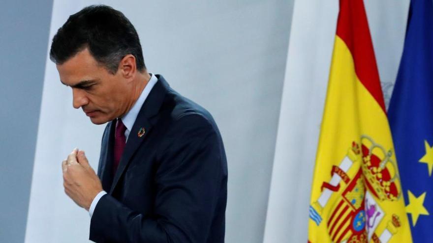 Sánchez reafirma su confianza en Podemos y justifica el apoyo de Bildu