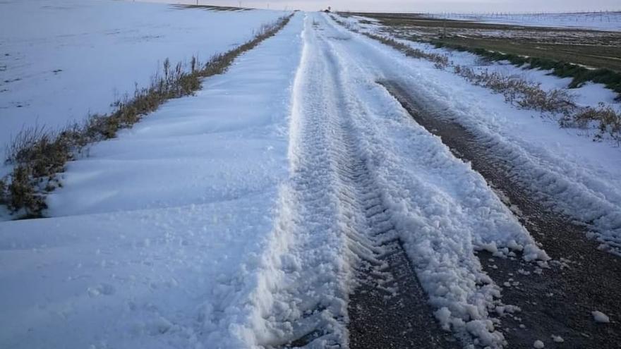 Cuatro carreteras de la provincia de Zamora presentan dificultades de circulación