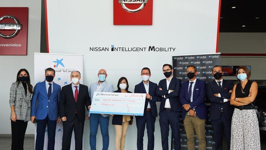 EtiCalidad y Fundación La Caixa donan 15.000 euros al proyecto Fórmula Solidaria de Cáritas