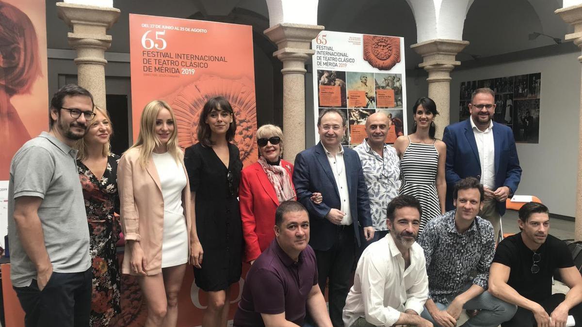 Concha Velasco se convierte en la narradora de 'Metamorfosis' en el festival de teatro de Mérida