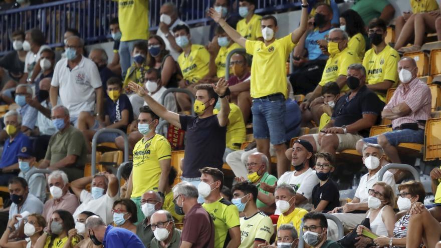 La Justicia valenciana suspende la limitación del aforo a 20.000 espectadores en estadios pero no afectará ni a la Cerámica ni a Castalia