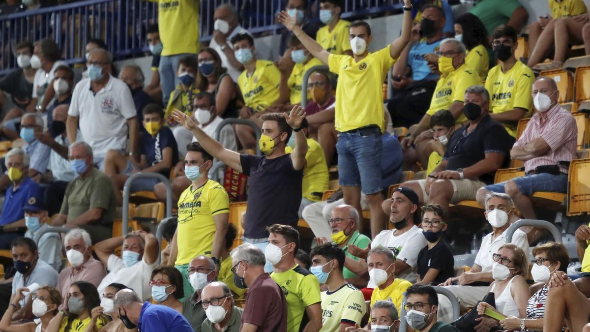 La afición del Villarreal acudió en un 40% a La Cerámica en la 1ª jornada de Liga ante el Granada y ahora podrá entrar el 60% del aforo, unos 13.000 espectadores.