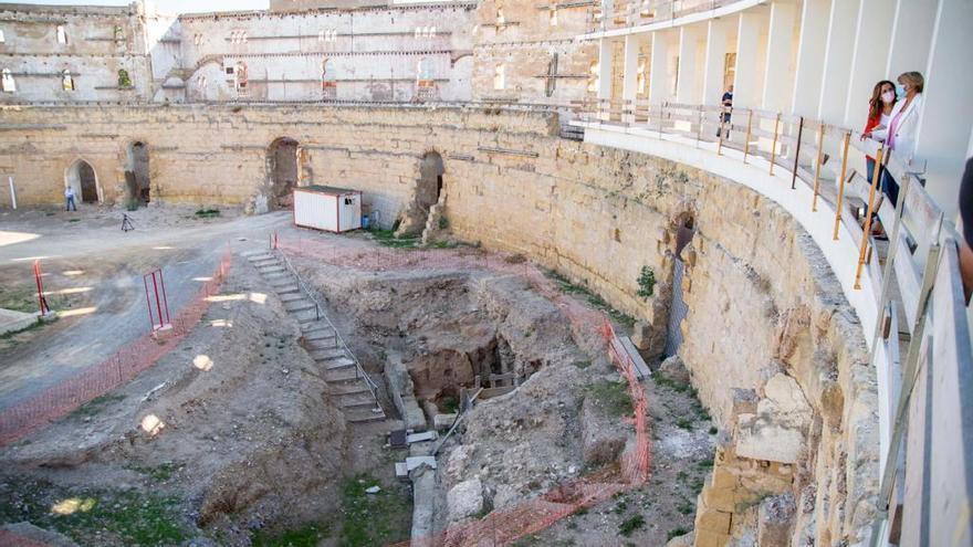 El Ayuntamiento prepara las visitas al Anfiteatro tras concluir la Fase II de excavación