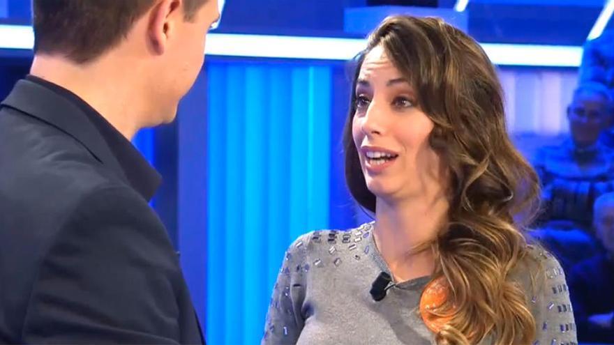 """Las lágrimas de Almudena Cid en su romántico mensaje a Christián Gálvez : """"Has hecho algo muy importante para mí"""""""