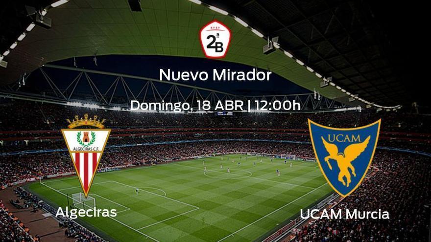 Previa del encuentro: el Algeciras recibe al UCAM Murcia