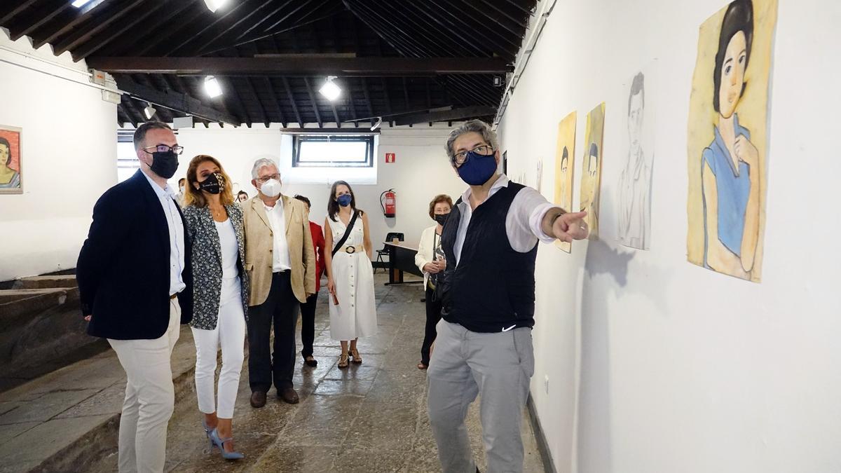 La exposición organizada por el colegio Virgen del Mar ya se puede visitar en Los Lavaderos.