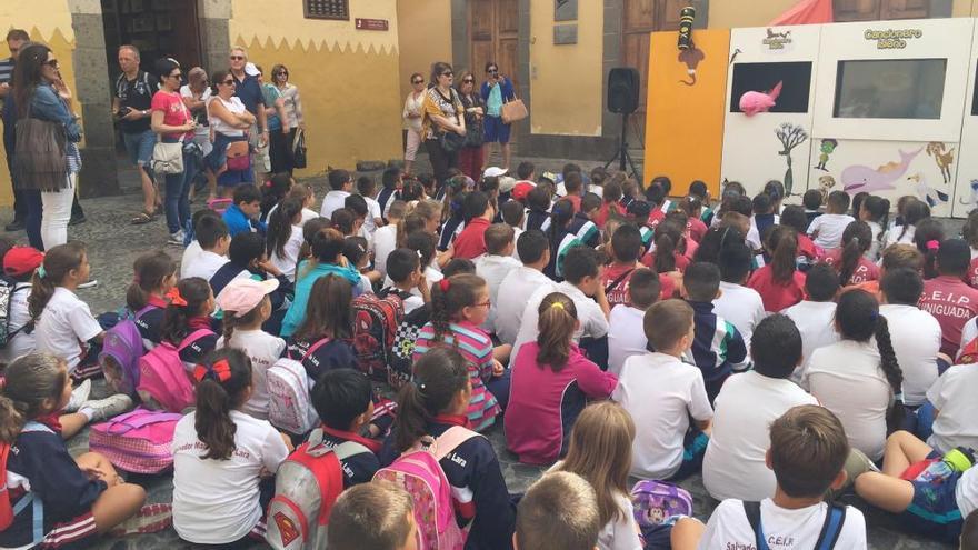 Vegueta, el Cono Sur y Tafira despiden el curso con una fiesta infantil