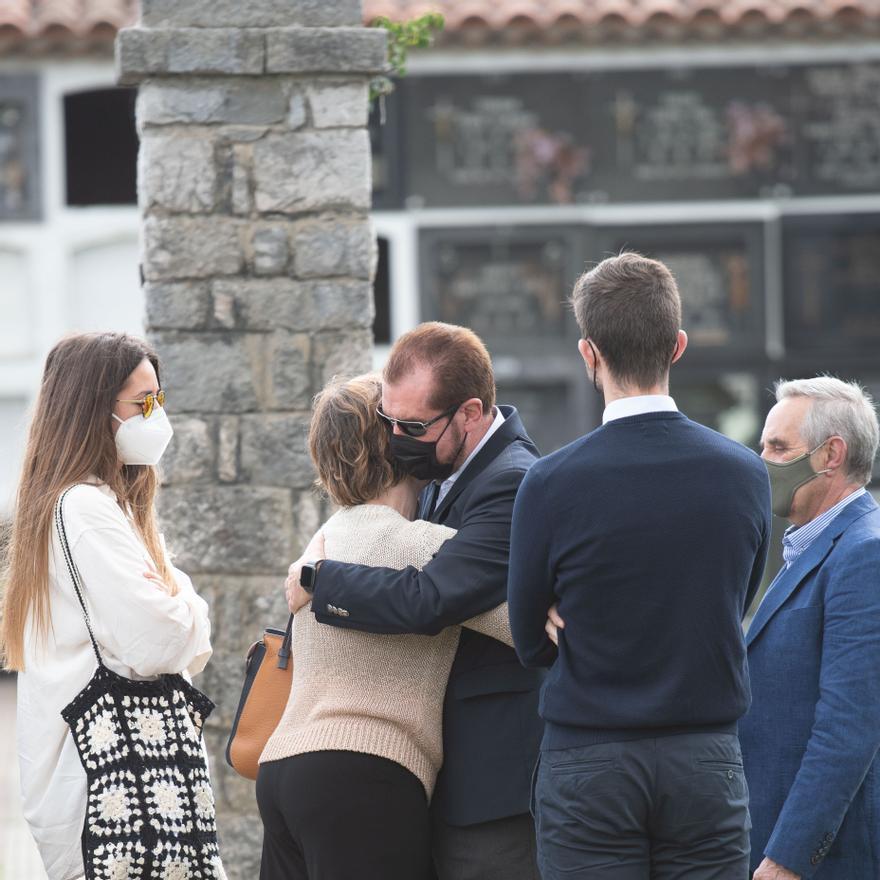 Último adiós a Menchu Álvarez del Valle/Europa Press