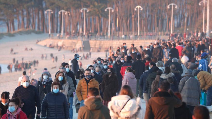 Los 20 días que triplicaron los casos de COVID-19 en Galicia