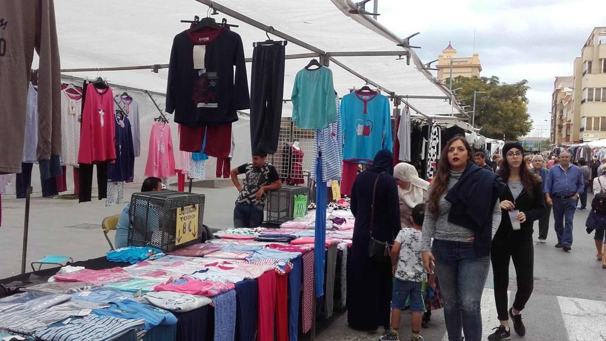 Imagen de archivo del mercado de Sagunt