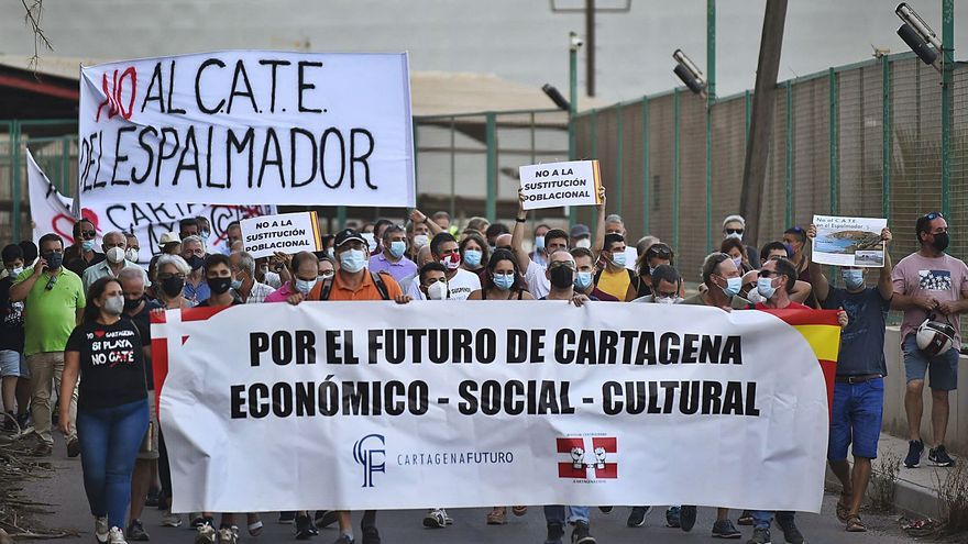 """""""No al CATE en El Espalmador"""""""