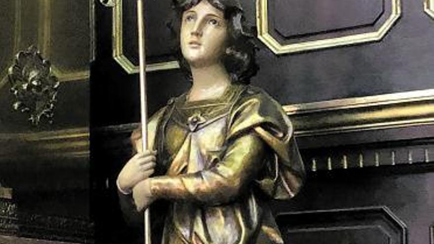 Restaurada la talla del Cristo yacente, una de las más relevantes de la Pasión de Candás
