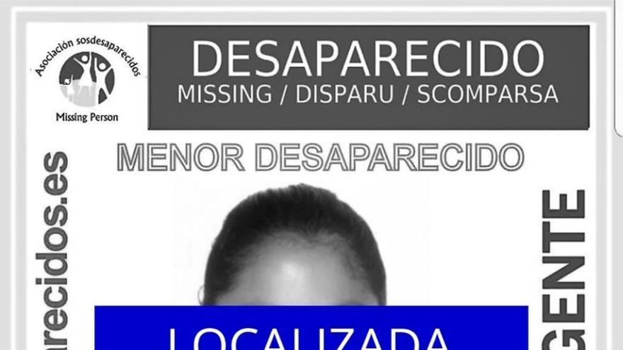 Localizan a la niña de 13 años desaparecida en Palma