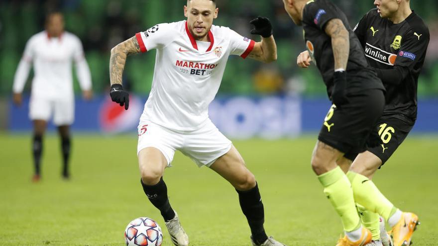 El Sevilla, directo a octavos al vencer al Krasnodar
