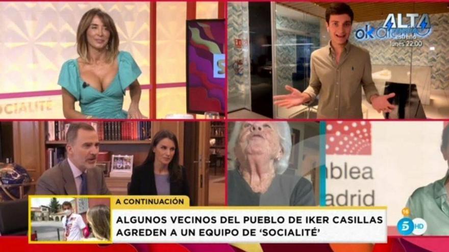 'Socialité' tampoco da cabida a la entrevista de Olga Moreno, al igual que 'Sálvame'