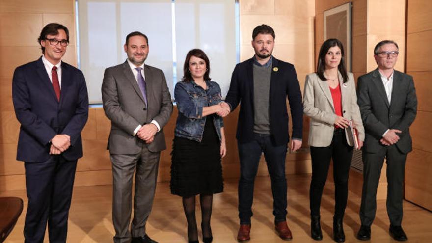 ERC mantiene el 'no' pero pacta seguir negociando