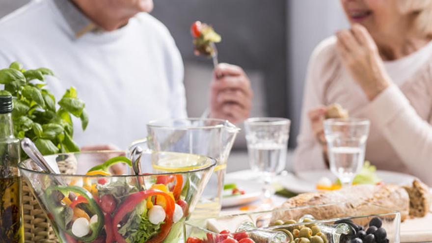 Dieta mediterránea contra el deterioro cognitivo en los mayores
