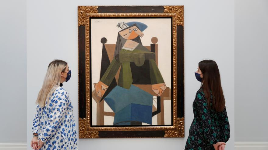 Una pintura de Picasso se subasta en EEUU por más de 103 millones de dólares