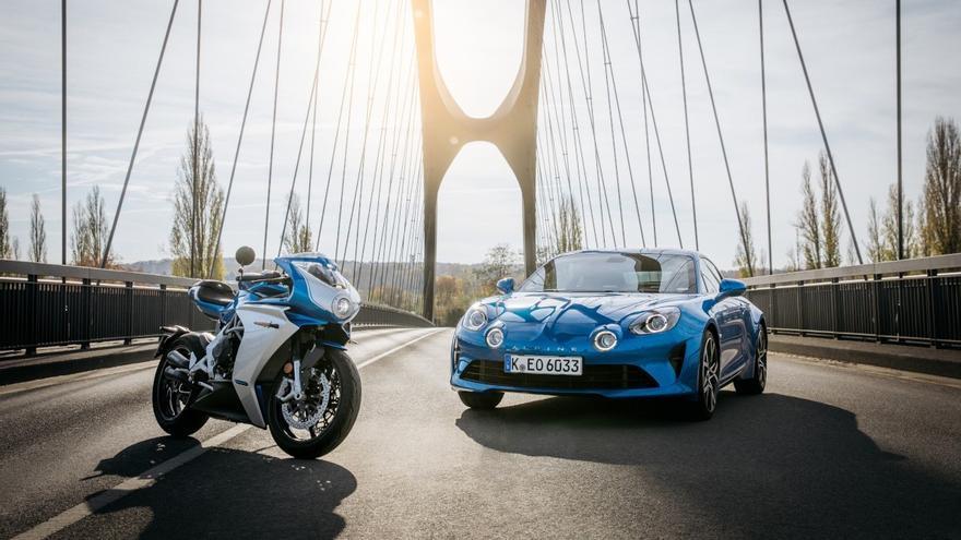 MV Agusta y Alpine  crean la Superveloce