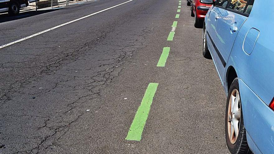 La capital trabaja en  habilitar la Zona Verde como alternativa de aparcamiento