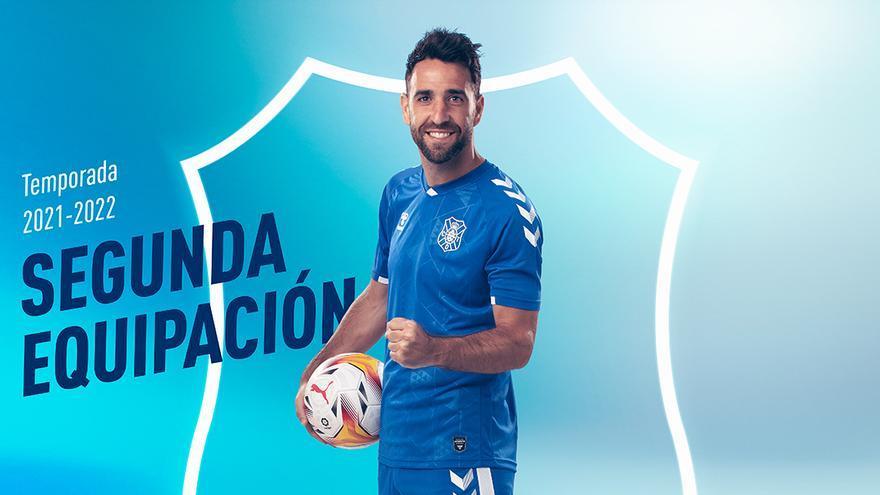 Así es la segunda equipación del CD Tenerife para la próxima jornada