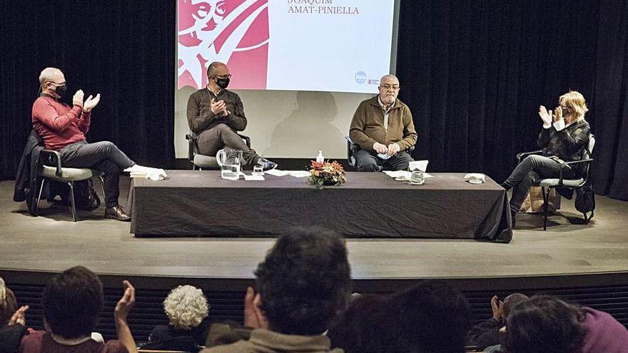 Trobada amb els finalistes de l'Amat-Piniella