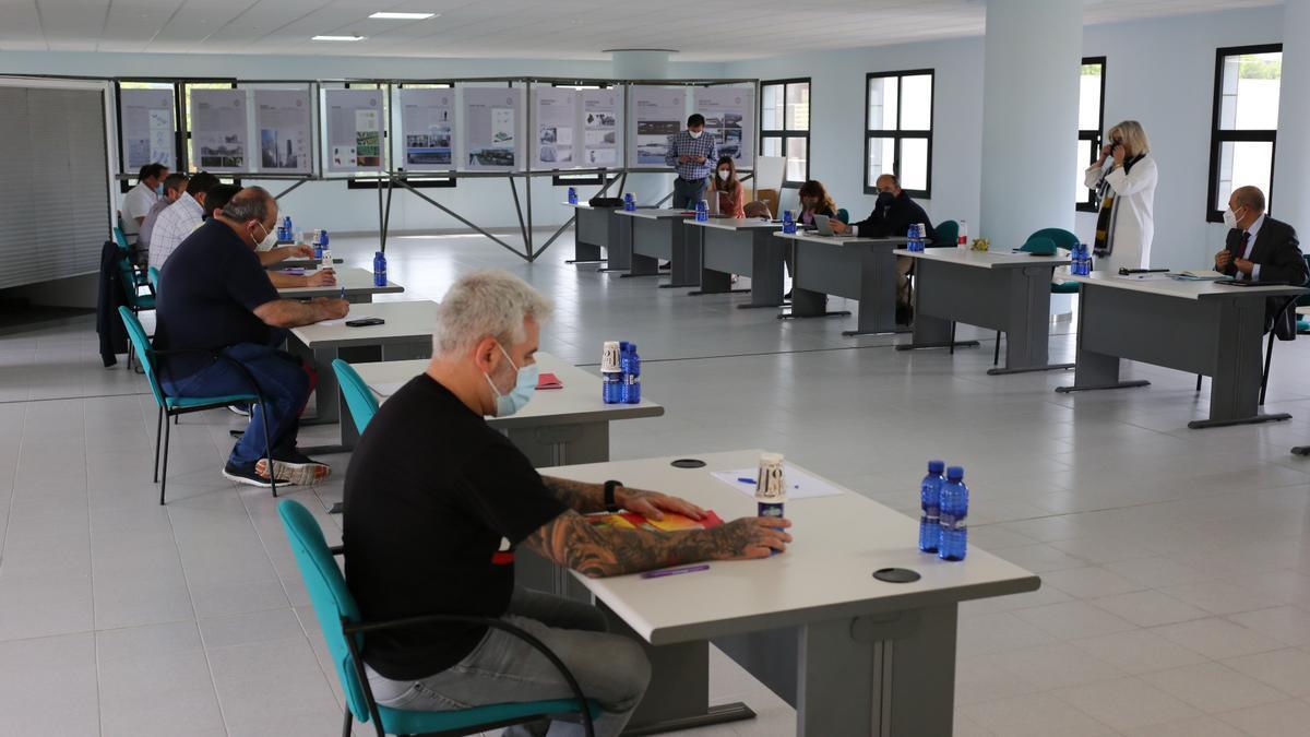 Imagen de archivo de las reuniones del convenio colectivo de la cerámica.