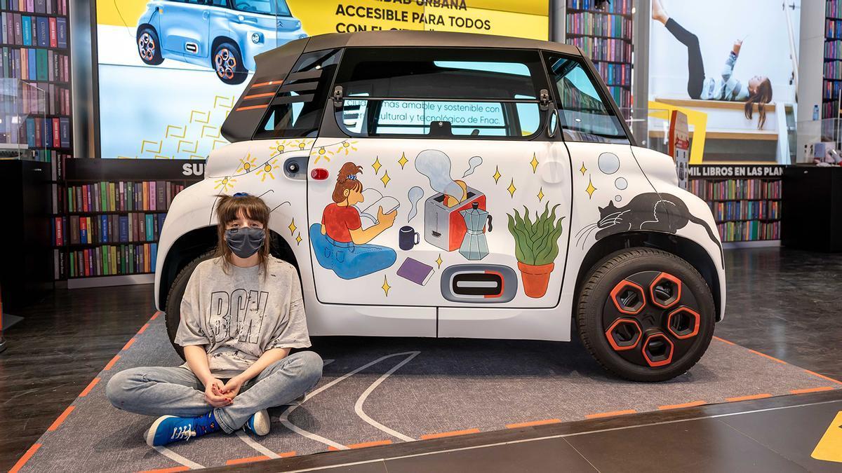 El Citroën AMI llega a España a través de Fnac