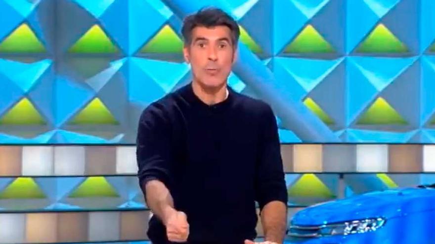 La advertencia de Jorge Fernández al público por una concursante de la Ruleta de la Suerte