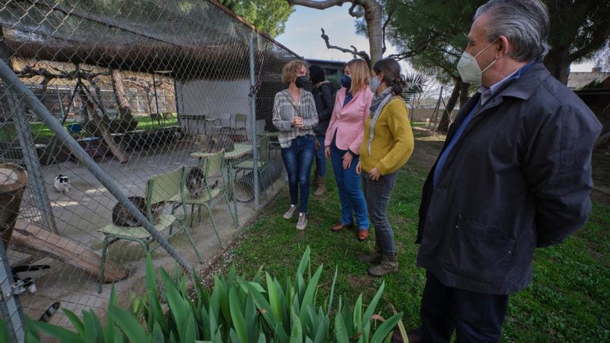 El Consell Comarcal i l'Ajuntament de Figueres visiten la protectora