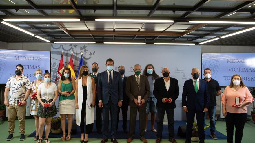Zamora acoge el acto de entrega de las medallas a las víctimas del terrorismo de Castilla y León