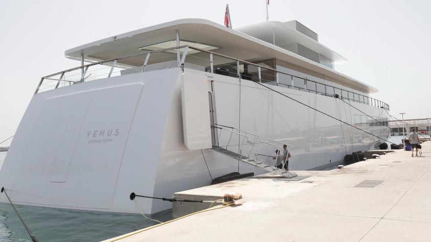 El megayate de Steve Jobs ya está en Palma