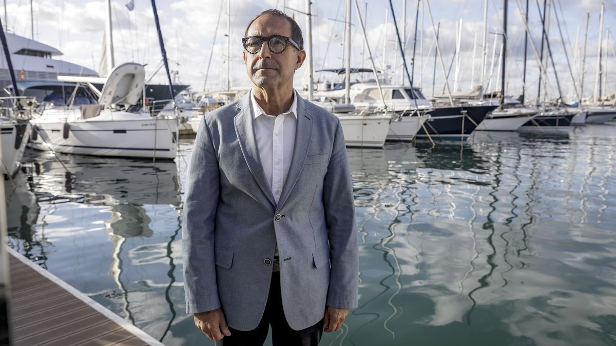 Emérico Fuster, presidente del Real Club Náutico de Palma